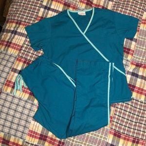 Scrubs matching uniform